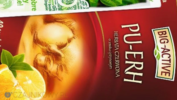 Herbata Big-Active (Bio-Active) Pu-erh z cytryną, Oxalis Pu-erh Fitness: porównanie, recenzja, opinie