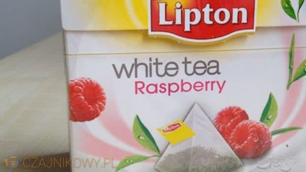 Biała herbata Lipton White Tea Raspberry: opinie, recenzja