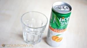 Nice Tea by Fitella Black Tea Peach (Biedronka, FoodCare), opinie