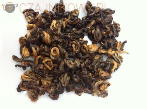 Czarna Chmura. China Yunnan Black Cloud liście