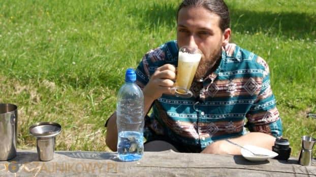 Przepis na Yerba Mate Shake Kawowy z syropem Karmelowym