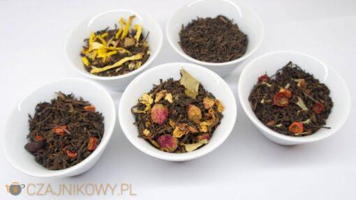 Zestaw Czerwona Herbata Pu-Erh