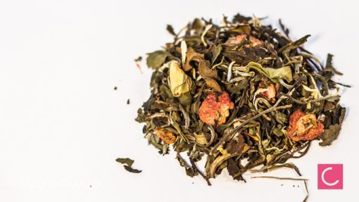 Herbata biała truskawkowo czekoladowa