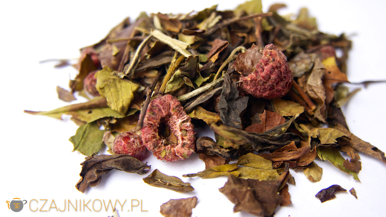 Herbata biała Pai Mu Tan, Soczysta Malina