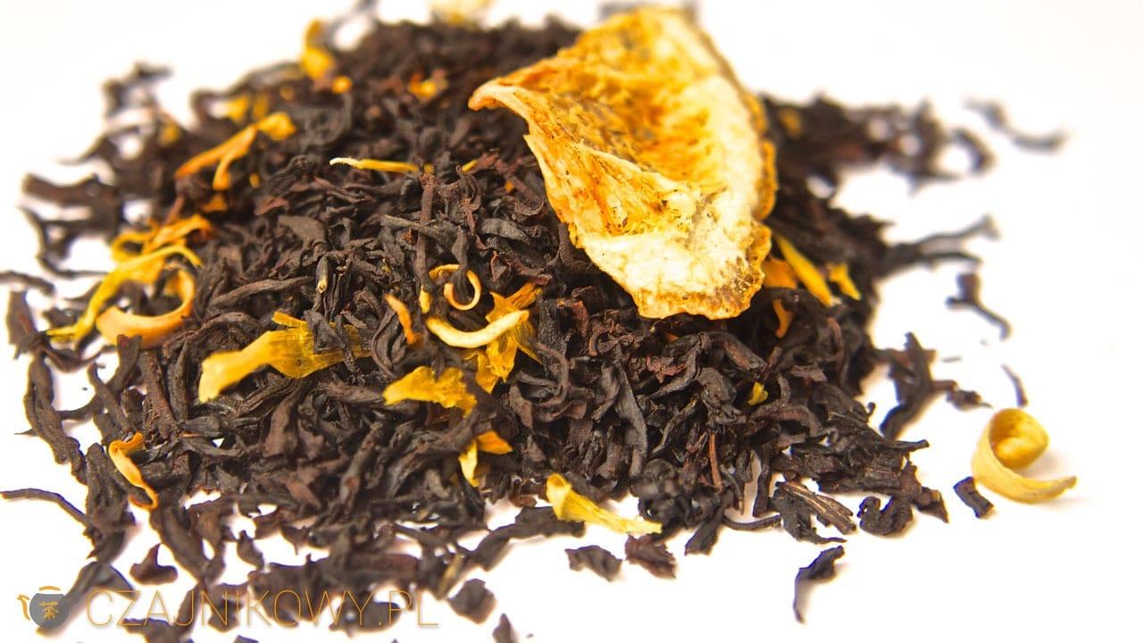 Herbata czarna Earl Grey Pomarańczowy