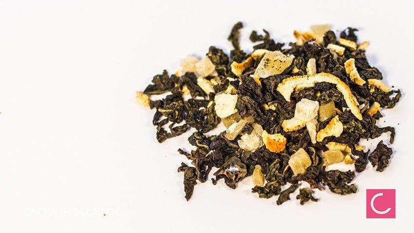 Herbata oolong Mango Pomarańcza