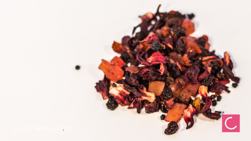 Herbata owocowa Truskawki w Czekoladzie