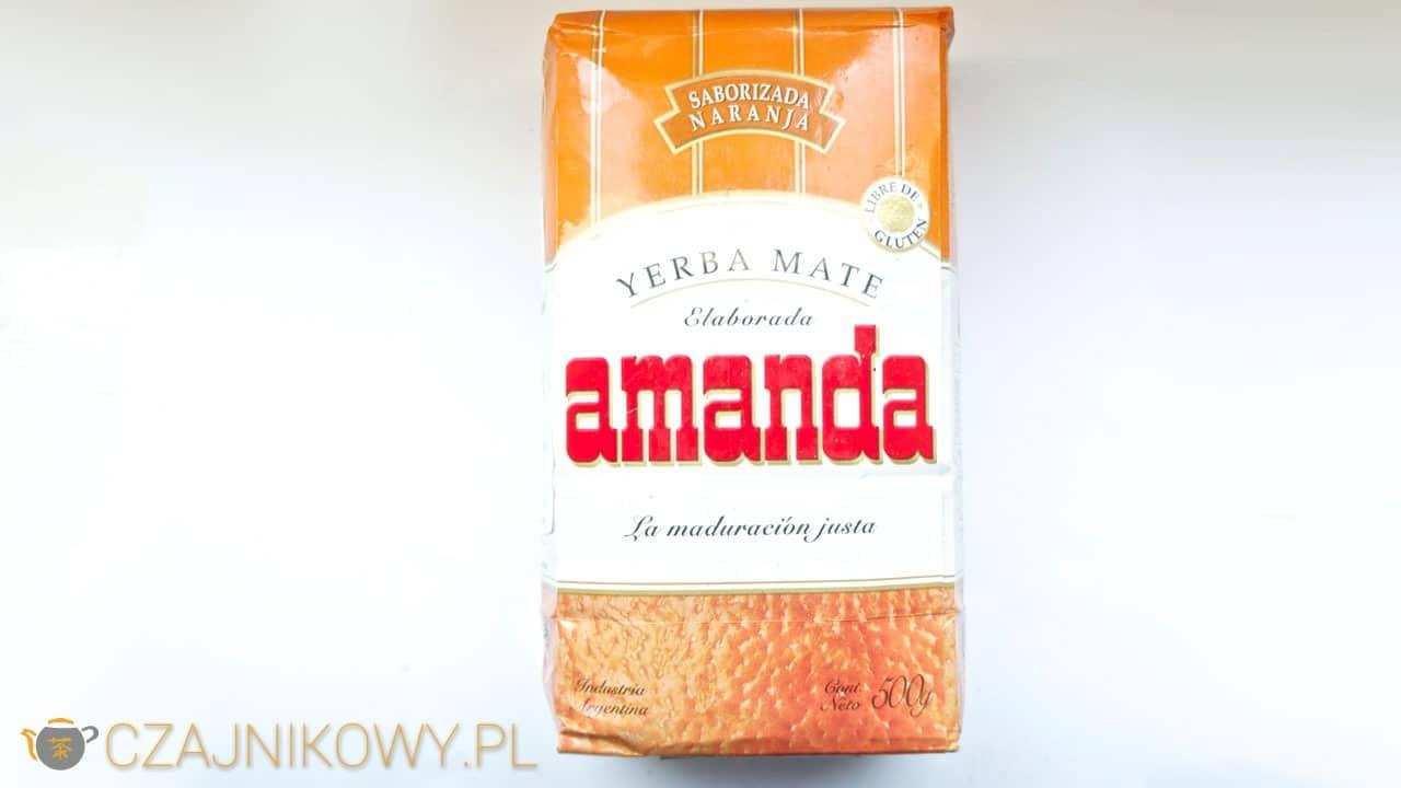 Yerba mate Amanda Naranja