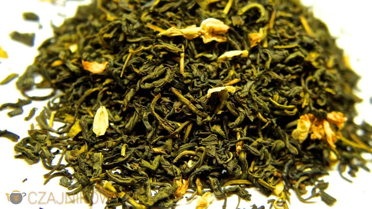 Herbata zielona Jaśminowa z Kwiatkami