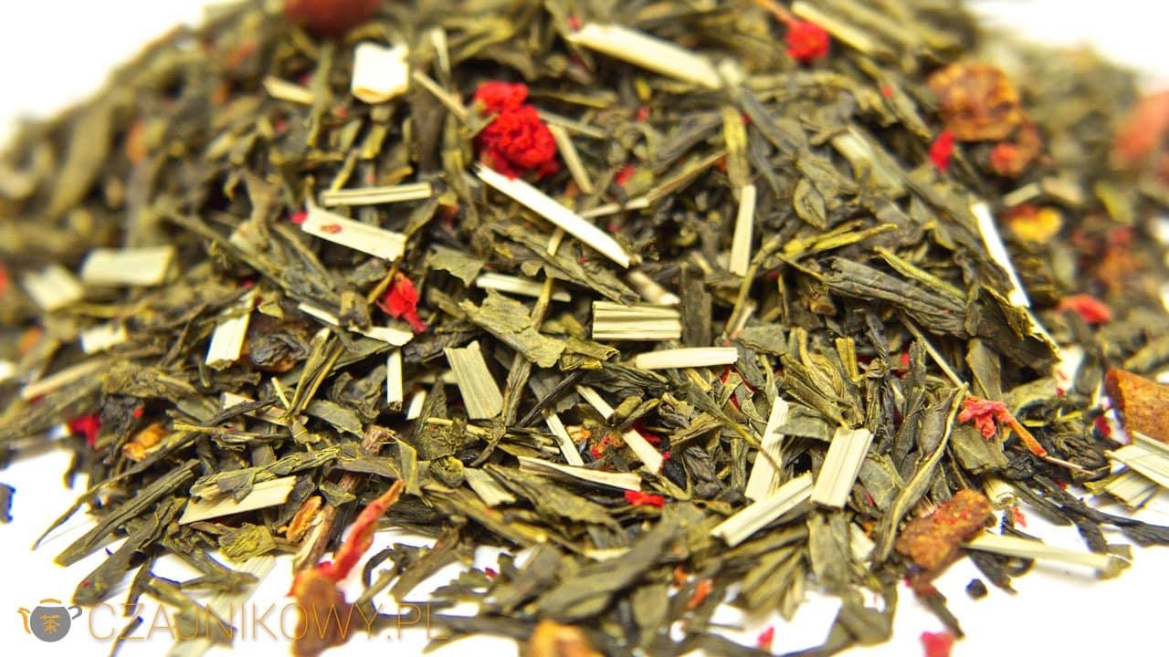 Herbata zielona Moc Granatu