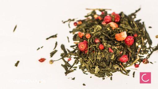 Herbata zielona Pikantny Romans