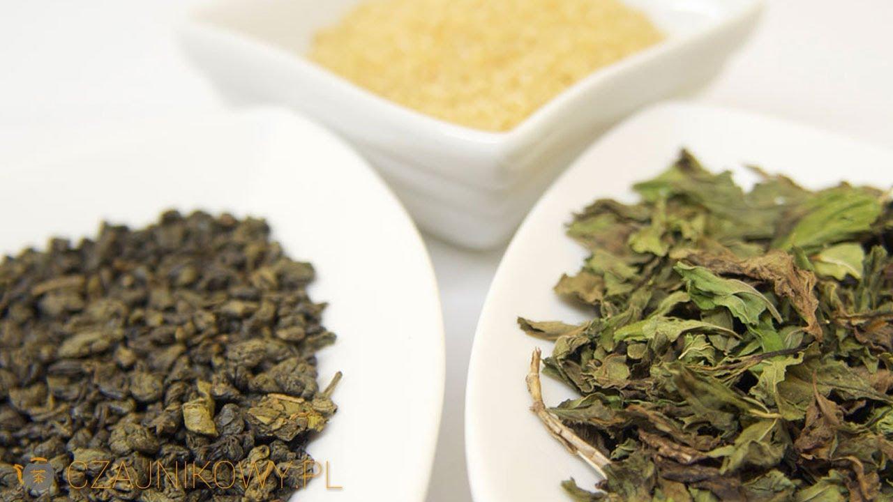 Przepis na Touarega marokańską herbatę zieloną z miętą i cukrem, porady