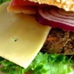 Wegetariański burger z Yerba mate i herbatą, przepis