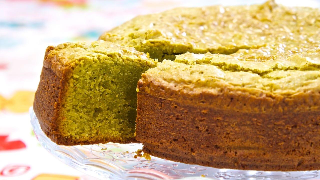 Przepis na ciasto z zieloną herbatą Matcha