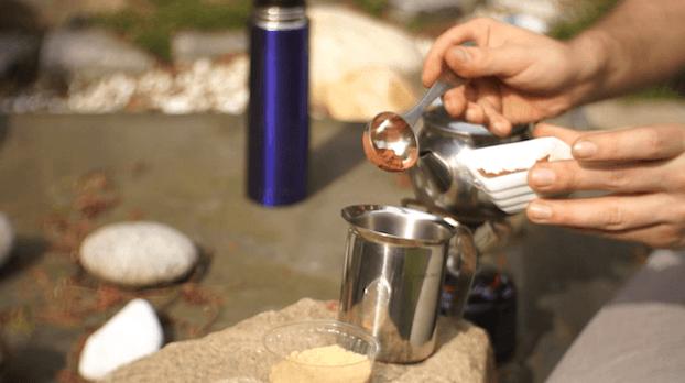 Herbata z mlekiem i kakao, przepis