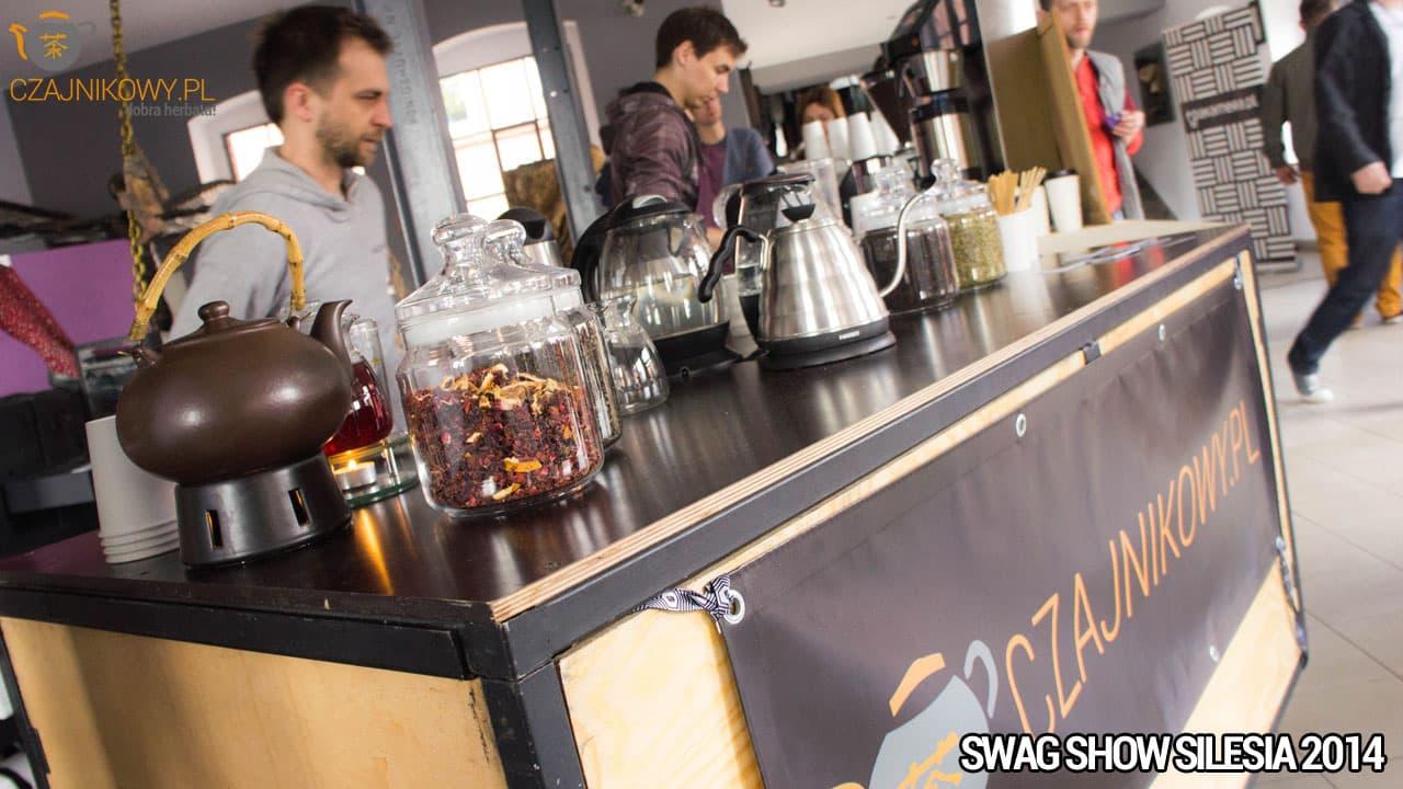Posiadamy również mobilny bar Czajnikowy.pl do parzenia herbaty
