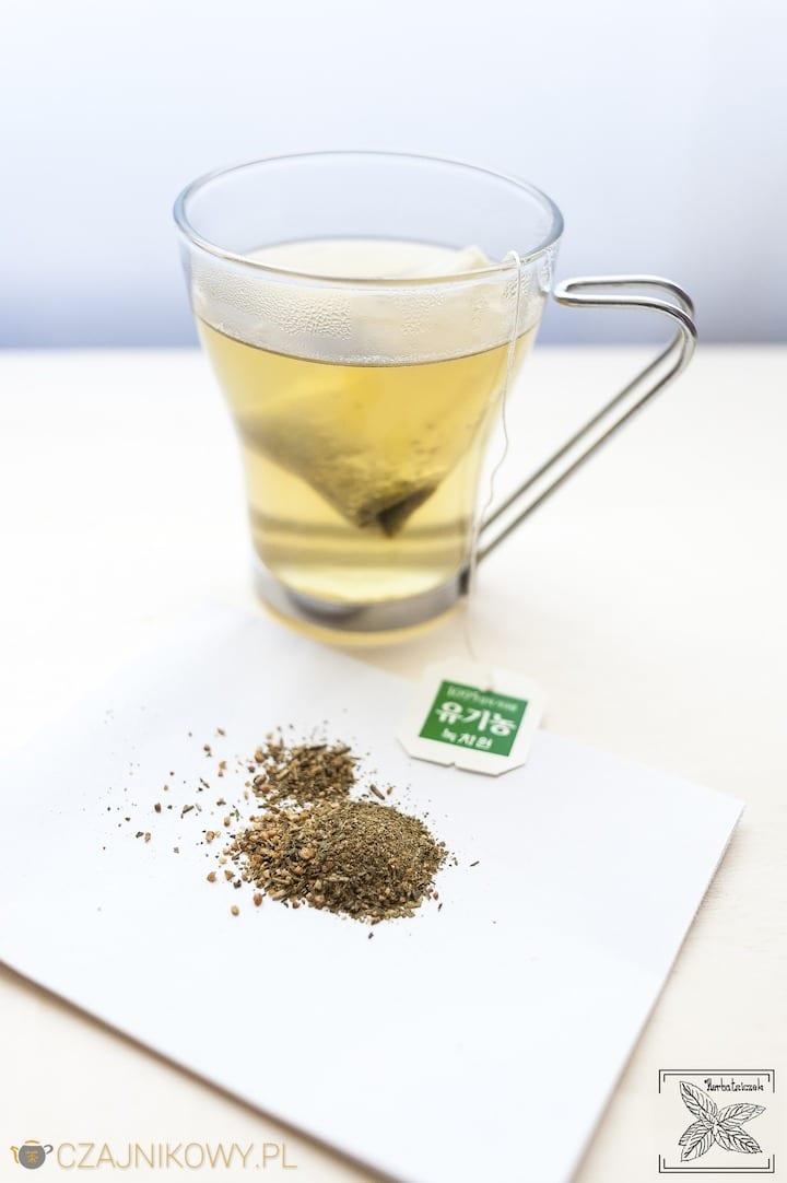 Koreańska herbata zielona ekspresowa w torebkach