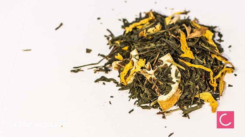 Herbata zielona Ice Tea Limonka z aloesem