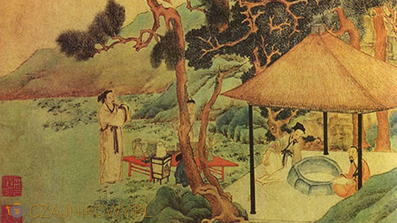 Historia herbaciarni w Chinach