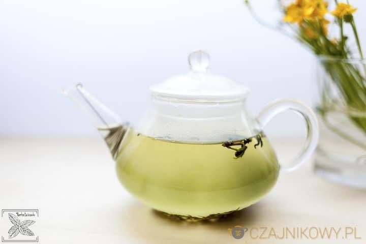 Parzenie, herbata zielona koreańska Hyunmicha-Garucha