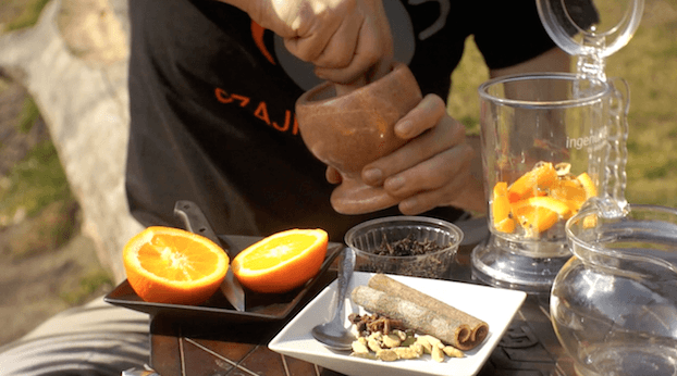 Herbata po libańsku, przepis na herbatę po libańsku
