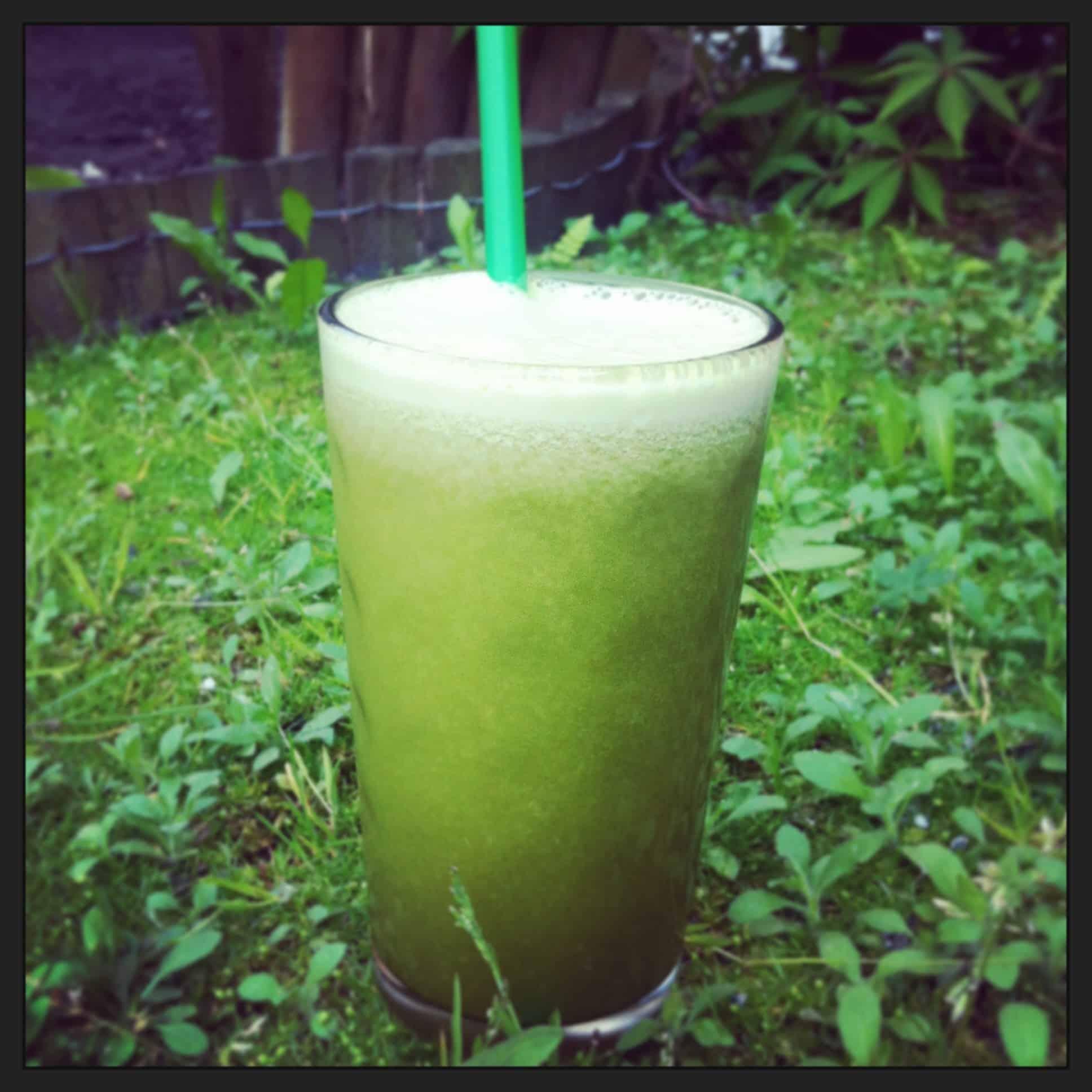 Smoothie z zieloną herbatą