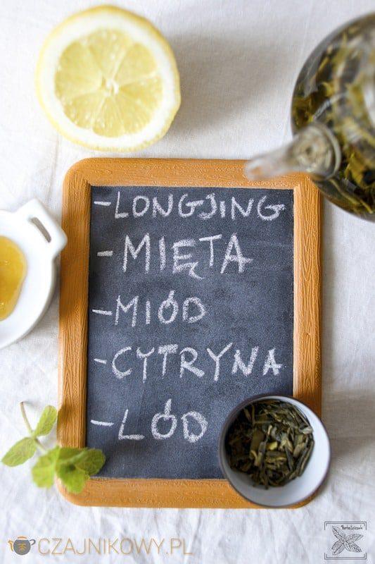Napój izotoniczny z herbaty. Herbata zielona Long Jing na zimno: składniki