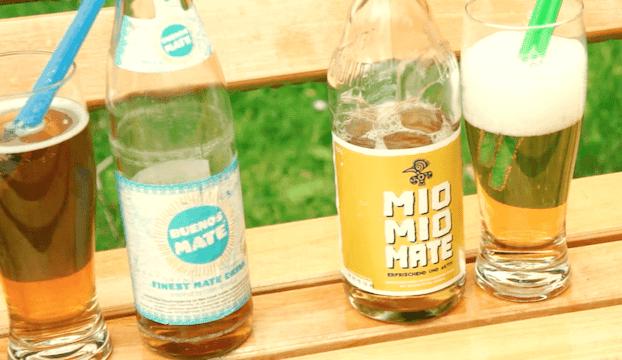 Test Yerba mate w butelkach: Club Mate, Mate Classic, Buenos Mate, Mio Mio Mate