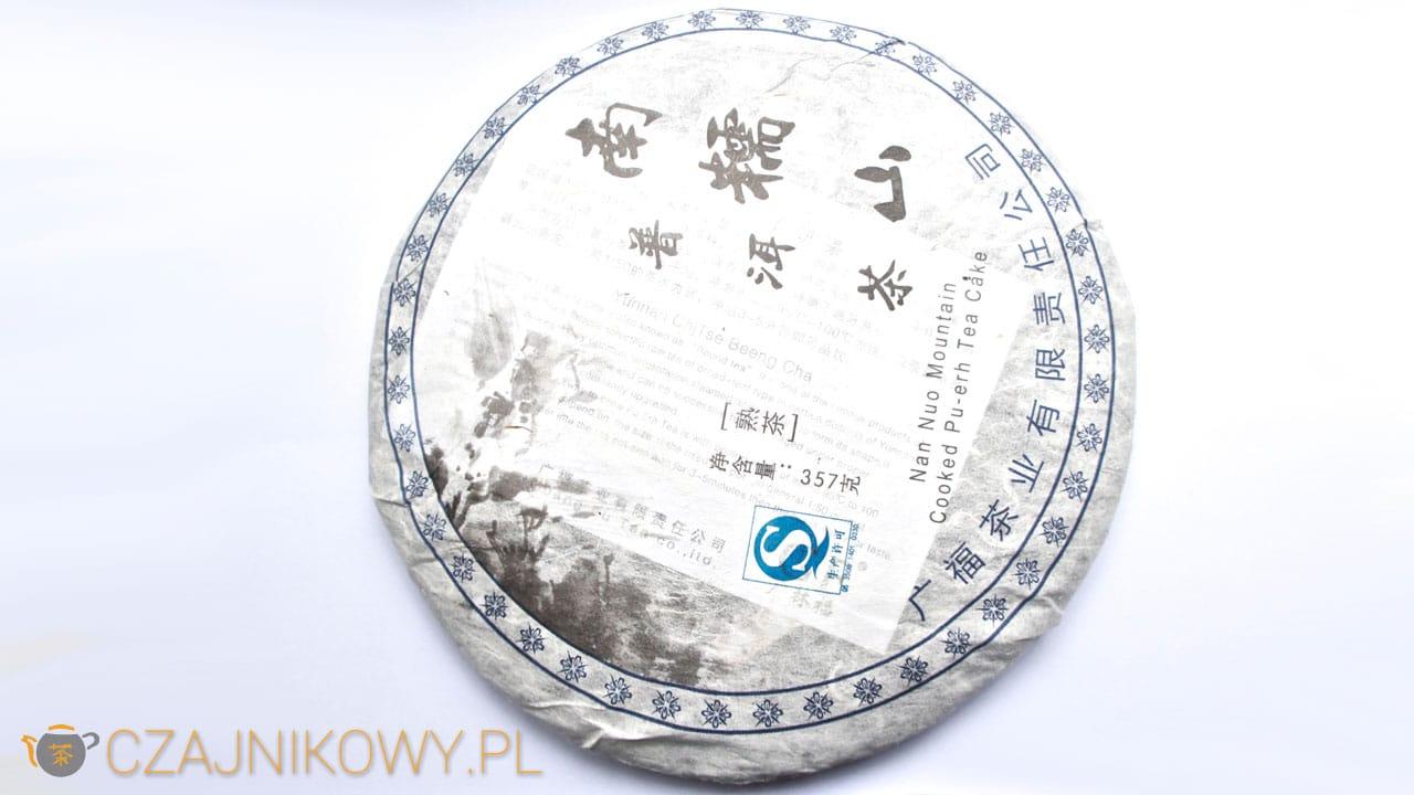 Herbata czerwona Pu-erh Nan Nuo Mountain