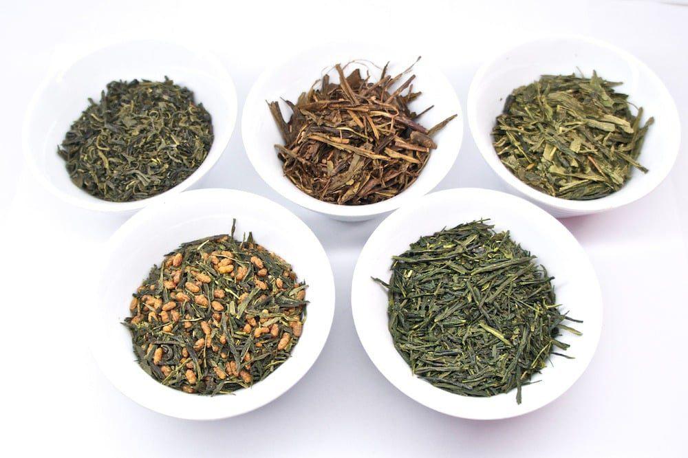 Wstęp do parzenia herbaty: japońskie zielone herbaty