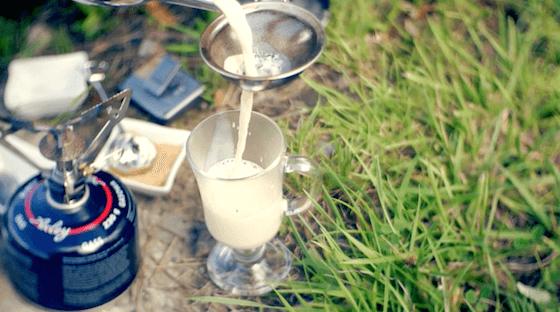 Przepis na Yeti. Yerba mate na mleku. Yerba prażona z mlekiem.