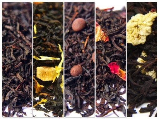 Zestaw Herbata czarna aromatyzowana