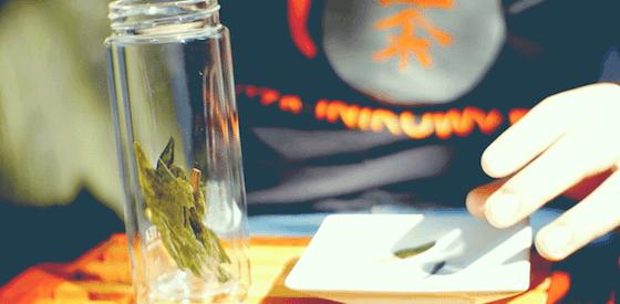 Taiping Houkui. Herbata zielona Tai Ping Houkui o wielkich liściach