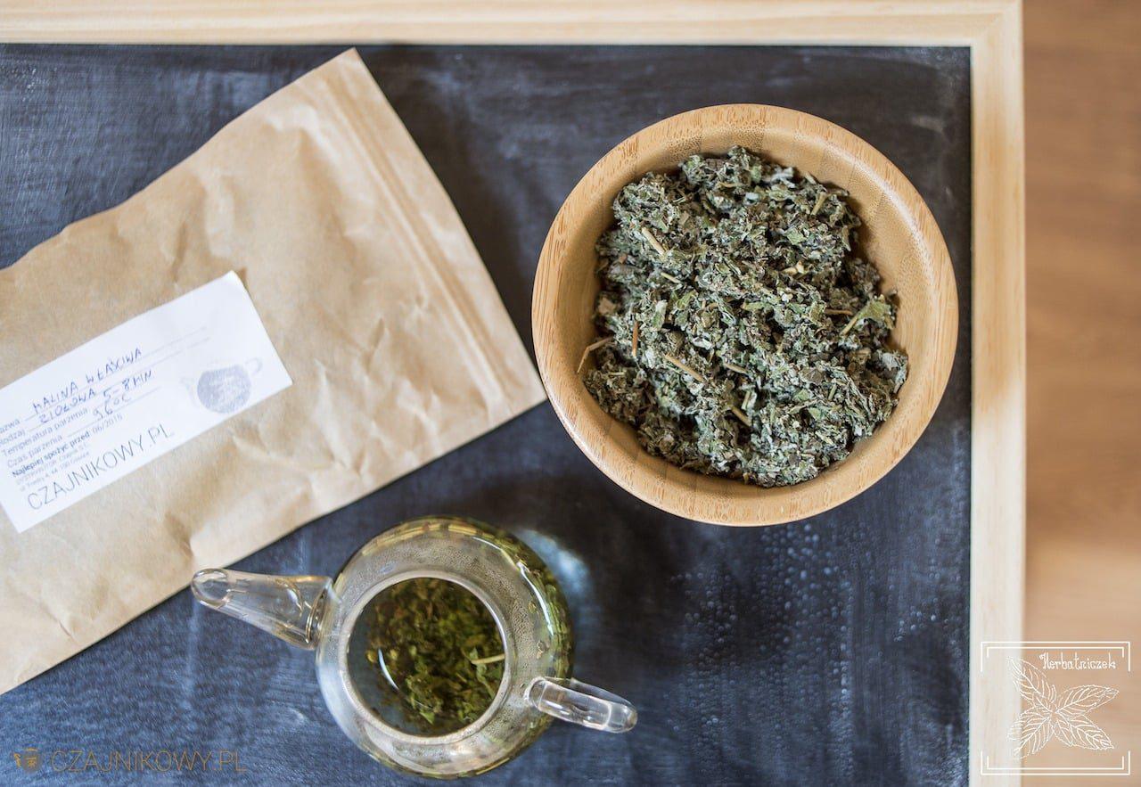Najlepsza herbata na przeziębienie. Herbata z liści maliny na grypę: liście maliny i napar