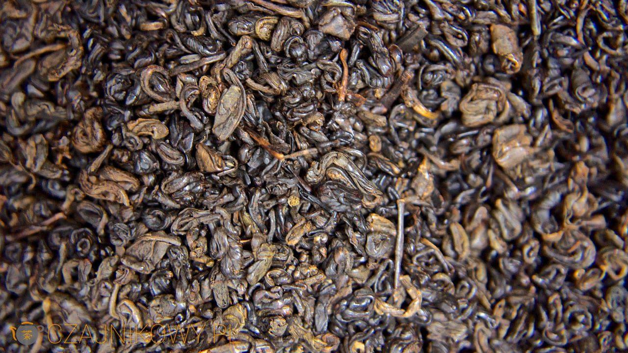 Herbata czarna Gunpowder Black