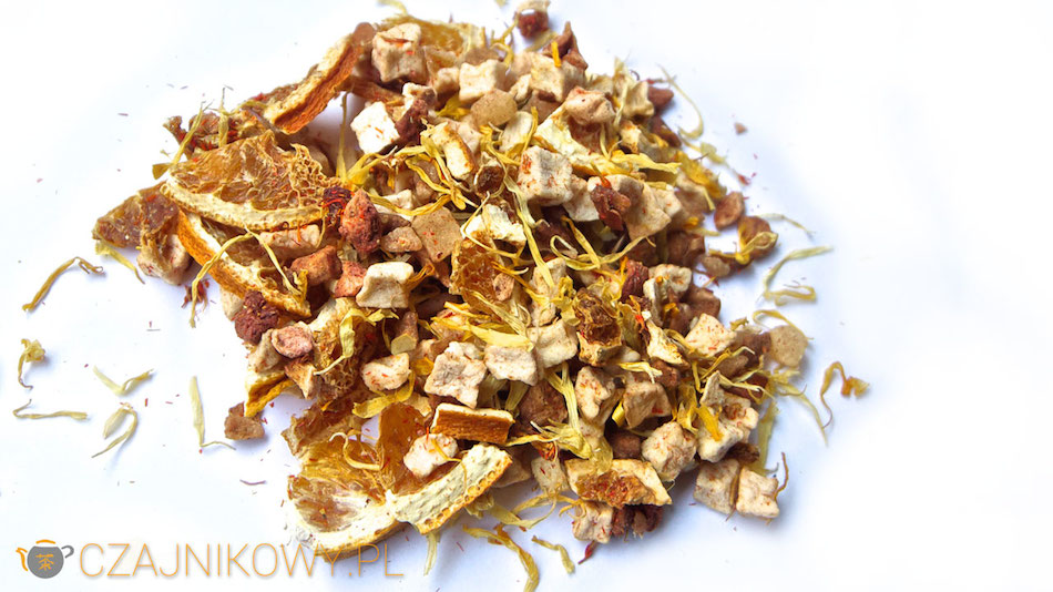 Herbata owocowa Słodkie Mango