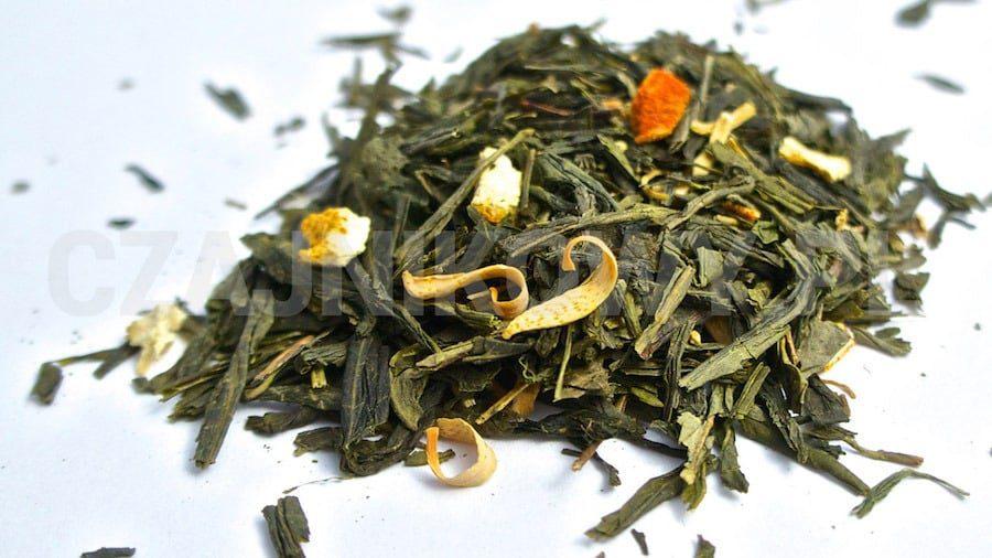 Herbata zielona Żeń-szeń Imbir
