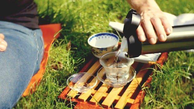 Gorzka herbata. Chiński ostrokrzew. Herbata Kuding Cha