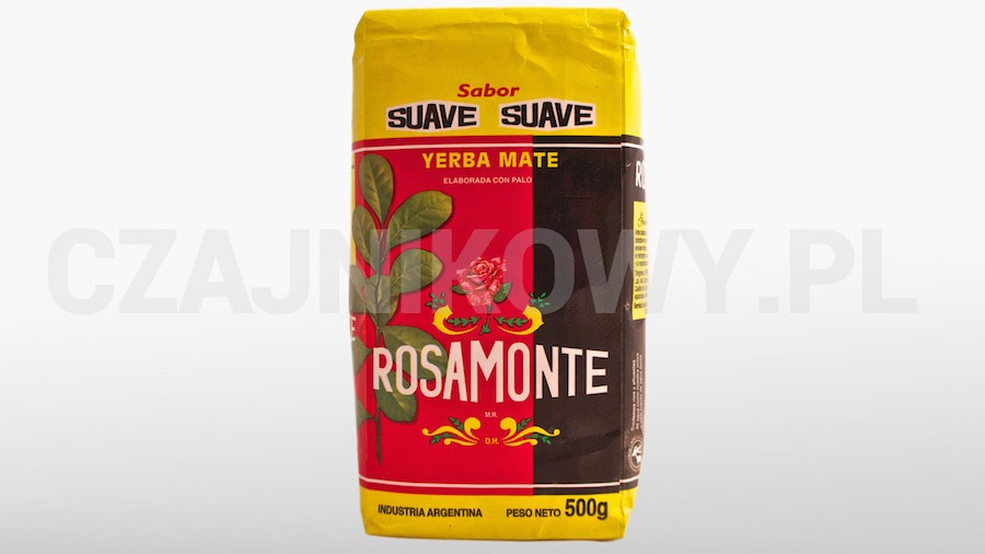 Yerba mate Rosamonte Sauve, delikatny smak