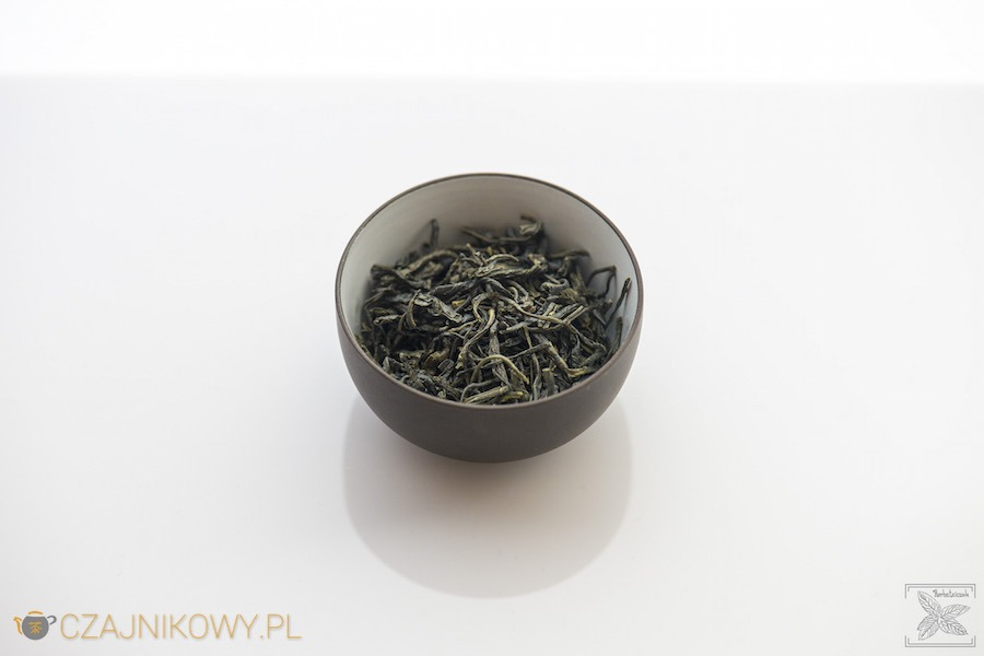 Zielona herbata En Shi Yu Lu, liście