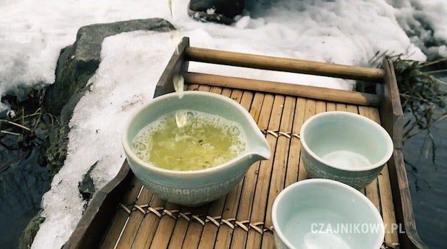 Herbata zielona Joongjak, napar