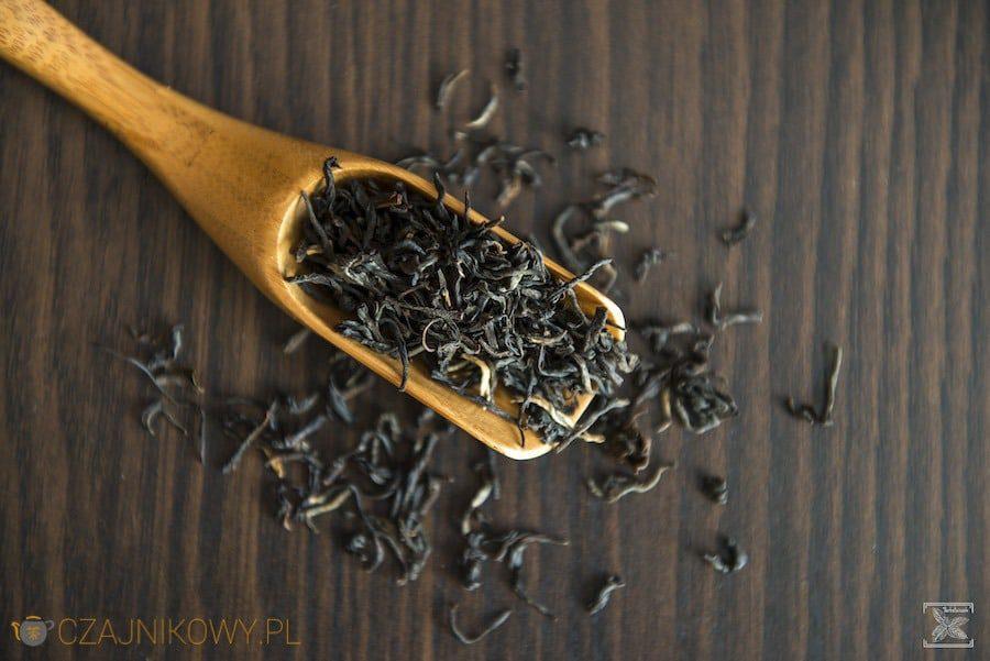 Liście herbaty Assam Hattialli