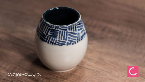 Matero do Yerba mate Folklor ceramika artystyczna 250 ml