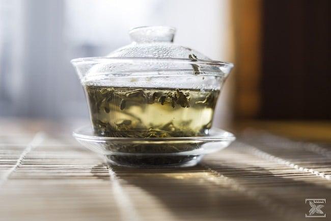 Trzecie parzenie zielonej herbaty Milky Mao Feng