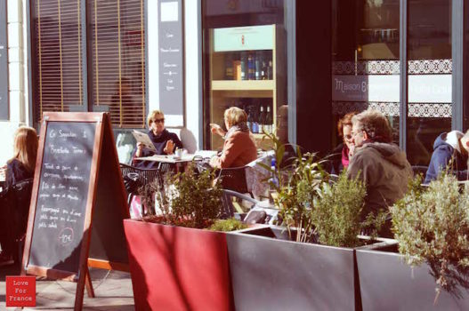 Herbata we Francji: Kawiarnia