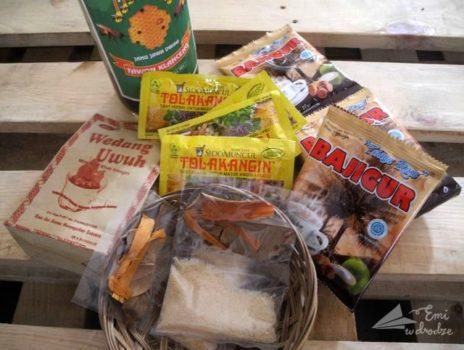 Indonezyjskie napoje ziołowe i inne