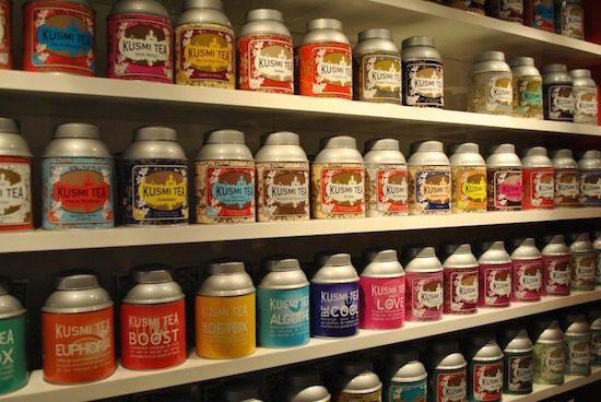 Herbata w Francji: Kusmi Shop