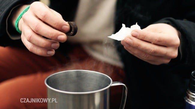 Przepis na Butter Tea: czerwona herbata pu-erh