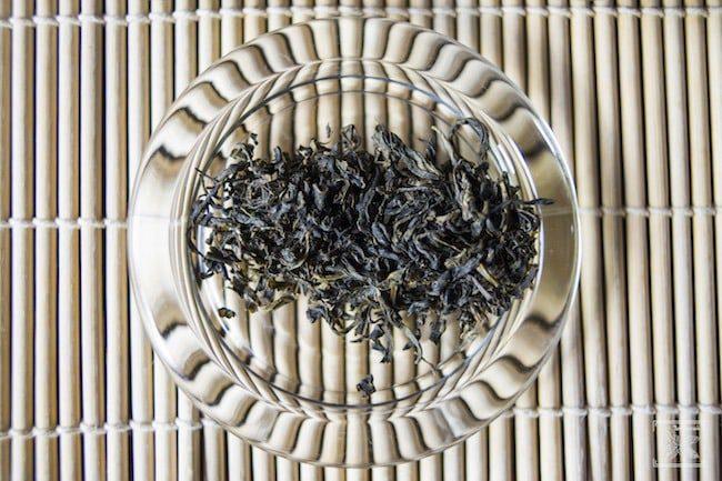 Liście zielonej herbaty Milky Mao Feng