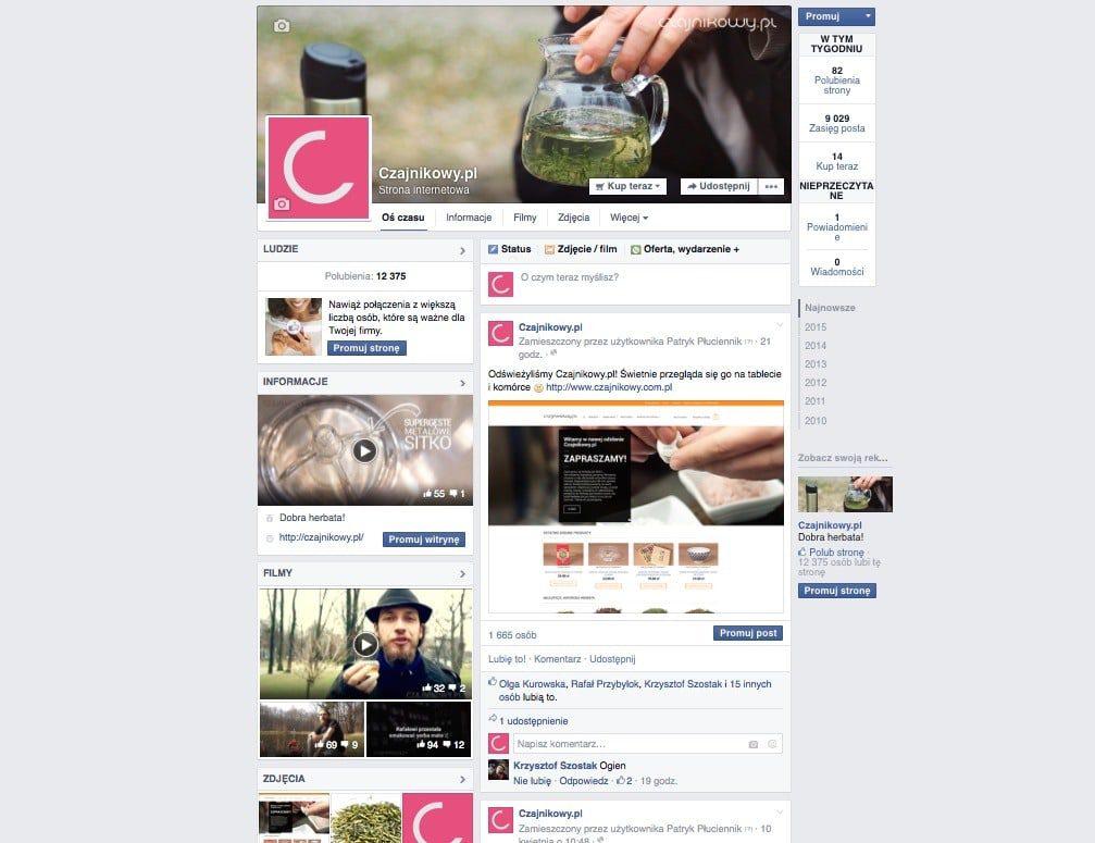Czajnikowy.pl media społecznościowe